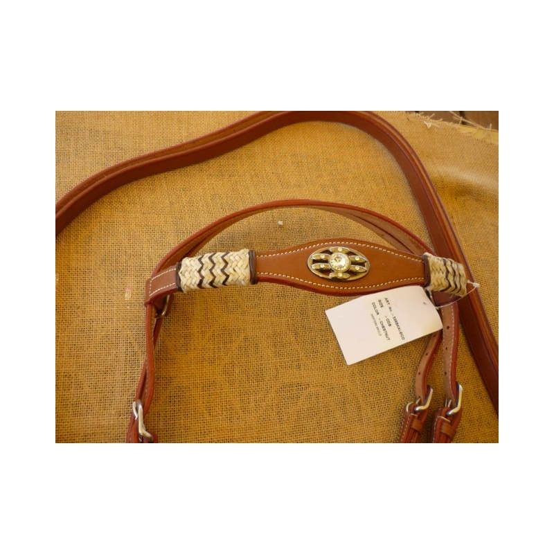 Rawhide WESTERN Bridle - Bridles and Accessories