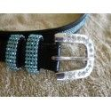 Ladies bling spur straps with crystals - Ladies Belts and Spur Straps