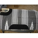 western cut back head acrylic padded saddle pad $85 delivered  - Stock and western Saddle Pads