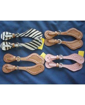 Campdraft Spur straps Ladies