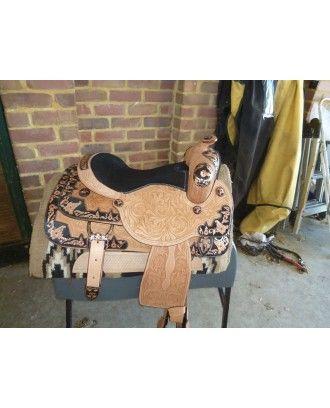 Western show saddle model 740415 - Western Show
