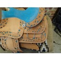 western saddle barrel and pleasure saddle 15 inch london  ri226