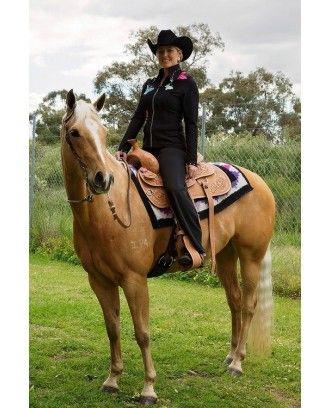Western Ladies  Barrel racer ri240 jeweled