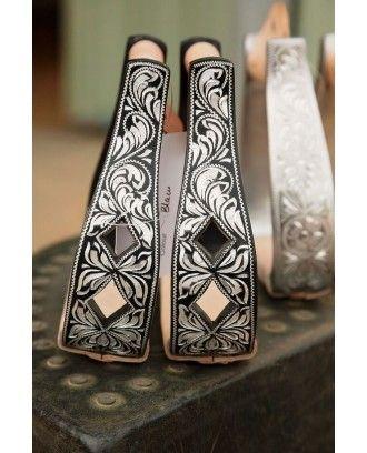 Western Stirrup Irons Diamonds MODEL 230