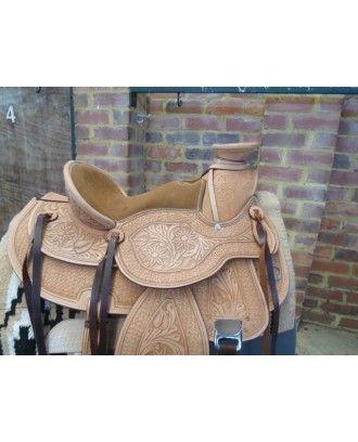 Wade Western Saddle padded seat ri235 womens western  - Western Saddles