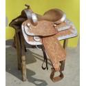 Western show saddle model Santa Cruz 1284 LONDON