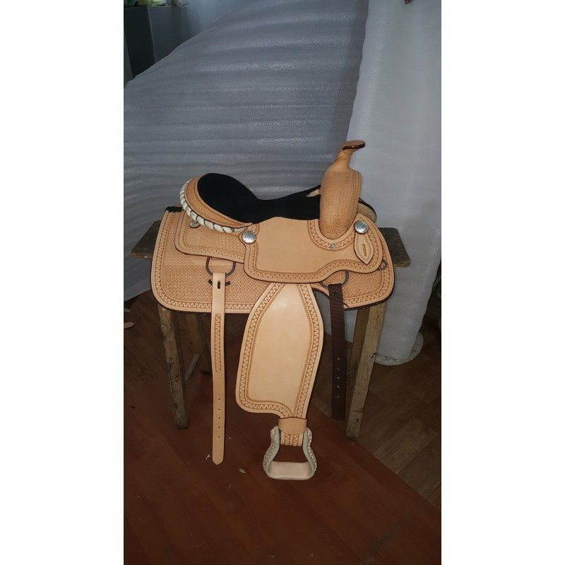 Western Roper london coloured ri225 - Roping Saddles