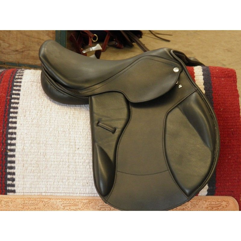 show saddle Toulouse All Purpose model 3 synthetic  - Synthetic English Saddles
