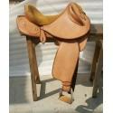 drover texas tea chestnut beige suide seat