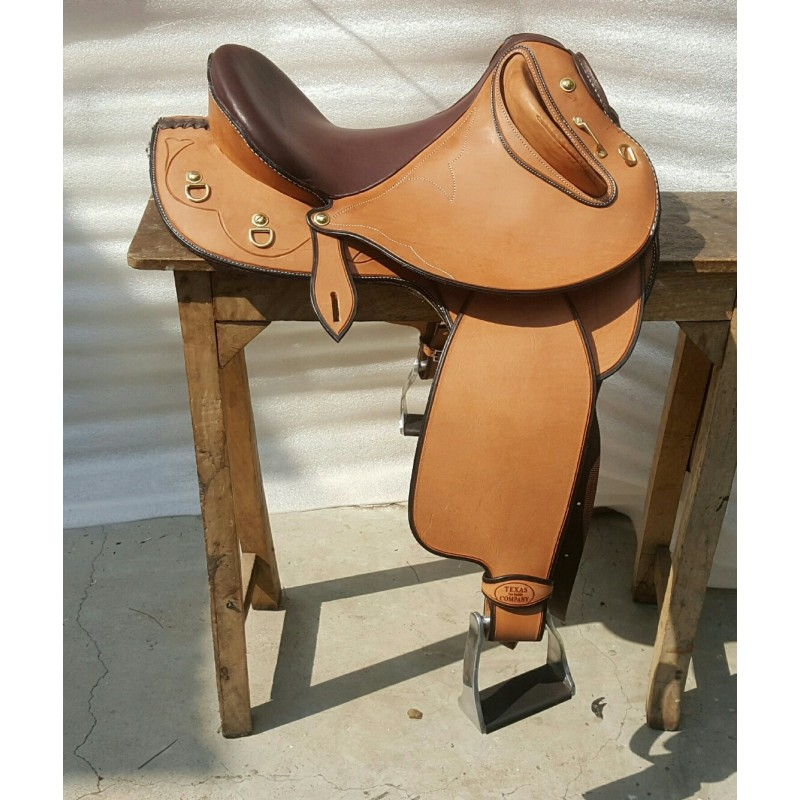 Texas Tea Drover Chestnut Suide Seat
