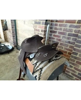 Drover Synthetic fixed tree FENDER stock saddle