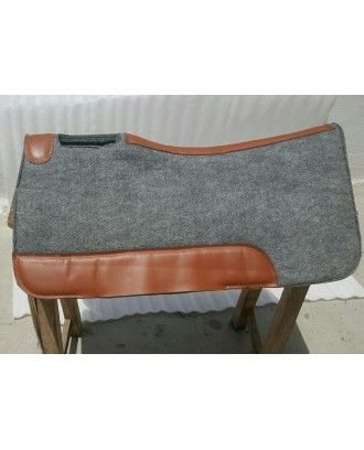 Neopreane western Stock saddle pad Grey